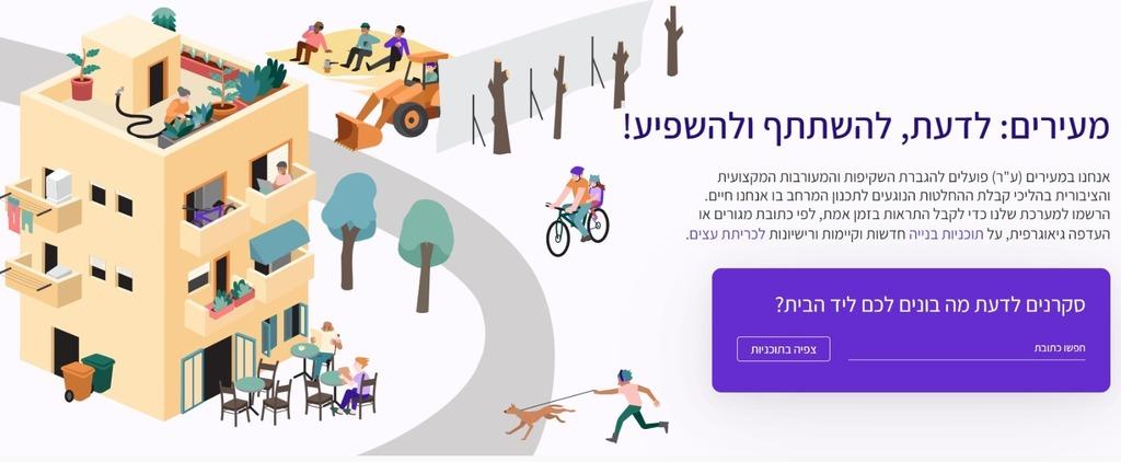 Meirim Homepage